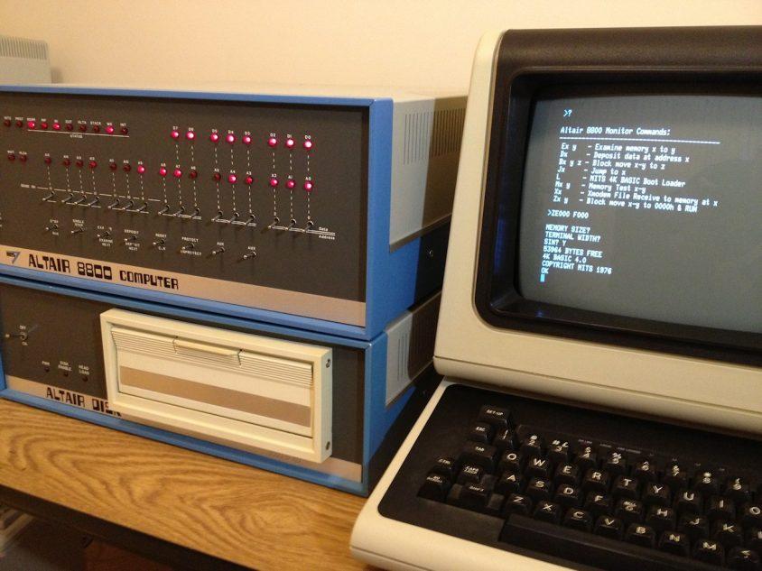 نتيجة بحث الصور عن Altair 8800